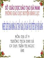 Gián án Bai 30: Thuc hanh  so sanh tinh hinh san xuat cay cong nghiep lau nam cua Trung du mien nui Bac Bo voi Tay Nguyen