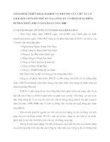 TÌNH HÌNH TRIỂN KHAI NGHIỆP VỤ BHTNDS CỦA CHỦ XE CƠ GIỚI ĐỐI VỚI NGƯỜI THỨ BA TẠI CÔNG TY CỔ PHẦN BẢO HIỂM PETROLIMEX-PJICO GIAI ĐOẠN 1996-2000