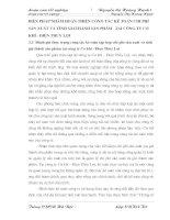 BIỆN PHÁP NHẰM HOÀN THIỆN CÔNG TÁC KẾ TOÁN CHI PHÍ SẢN XUẤT VÀ TÍNH GIÁTHÀNH SẢN PHẨM   TẠI CÔNG TY CƠ KHÍ - ĐIỆN THỦY LỢI