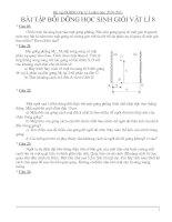 Tài liệu chuyen de BDHSG Ly 8