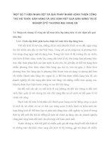 MỘT SỐ Ý KIẾN NHẬN XÉT VÀ GIẢI PHÁP NHẰM HOÀN THIỆN CÔNG TÁC KẾ TOÁN  BÁN HÀNG VÀ XÁC ĐỊNH KẾT QUẢ BÁN HÀNG TẠI XÍ NGHIỆP ÔTÔ THƯƠNG MẠI NGHỆ AN