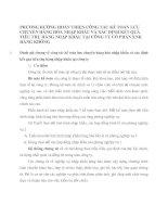 PHƯƠNG HƯỚNG HOÀN THIỆN CÔNG TÁC KẾ TOÁN LƯU CHUYỂN HÀNG HÓA NHẬP KHẨU VÀ XÁC ĐỊNH KẾT QUẢ TIÊU THỤ HÀNG NHẬP KHẨU TẠI CÔNG TY CỔ PHẦN XNK HÀNG KHÔNG