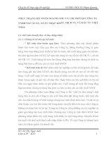THỰC TRẠNG KẾ TOÁN DOANH THU VÀ CHI PHÍ TẠI CÔNG TY TNHH SẢN XUẤT, XUẤT NHẬP KHẨU, DỊCH VỤ VÀ ĐẦU TƯ VIỆT THÁI