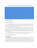 Chương 11. Dự báo thời tiết và dự báo khí tượng nông nghiệp