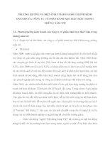 PHƯƠNG HƯỚNG VÀ BIỆN PHÁP NHẰM GIẢM CHI PHÍ KINH DOANH CỦA CÔNG TY CỔ PHẦN BÁNH KẸO HẢI CHÂU TRONG NHỮNG NĂM TỚI
