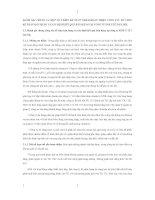 ĐÁNH GIÁ CHUNG VÀ MỘT SỐ Ý KIẾN ĐỀ XUẤT NHẰM HOÀN THIỆN CÔNG TÁC TỔ CHỨC KẾ TOÁN BÁN HÀNG VÀ XÁC ĐỊNH KẾT QUẢ BÁN HÀNG TẠI CÔNG TY XNK Y TẾ I HÀ NỘI