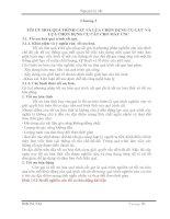 TỐI ƯU HOÁ QUÁ TRÌNH CẮT VÀ LỰA CHỌN DỤNG CỤ CẮT VÀ LỰA CHỌN DỤNG CỤ CẮT CHO MÁY CNC