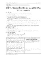 Bài giảng Giáo án địa lí 7 hoàn chỉnh - trình bày đẹp