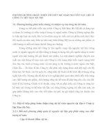 PHƯƠNG HƯỚNG HOÀN THIỆN TỔ CHỨC KẾ TOÁN NGUYÊN VẬT LIỆU Ở CÔNG TY DỆT MAY HÀ NỘI