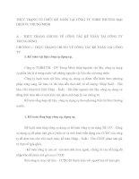 THỰC TRẠNG TỔ CHỨC KẾ TOÁN TẠI CÔNG TY TNHH THƯƠNG MẠI  DỊCH VỤ TRUNG MINH