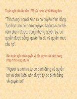 Bài soạn Bai 3- Cong dan binh dang truoc phap luat