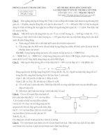 Tài liệu Đề HSG lý 9 V2 Thanh Chương 2010-2011