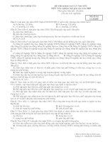 Trắc nghiệm luật giáo dục 2005