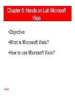 Chapter 6: Hands on Lab Microsoft Visio