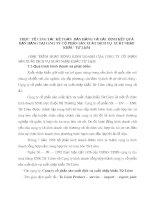 THỰC  TẾ CÔNG TÁC KẾ TOÁN  BÁN HÀNG VÀ XÁC ĐỊNH KẾT QUẢ BÁN HÀNG TẠI CÔNG TY CỔ PHẦN SẢN XUẤT DỊCH VỤ  XUẤT NHẬP KHẨU  TỪ LIÊM