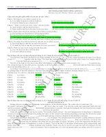 Bài giảng De thi thu DH - CD 4