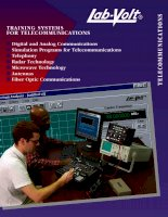 Training systems for telecommunications