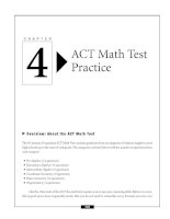 ACT Math Test Practice