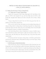 NHỮNG VẤN ĐỀ CHUNG VỀ HOẠT ĐỘNG TỰ DOANH CỦA CÔNG TY CHỨNG KHOÁN