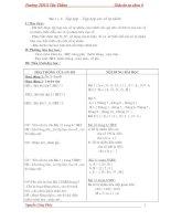 Bài giảng Tu chon 6 - dot 1