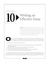 The GED Language Arts,Writing Exam - Writing an Effective Essay