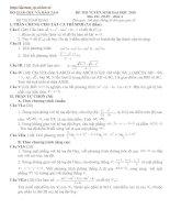 Bài soạn LT cấp tốc Toán 2010 số 3