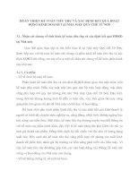 HOÀN THIỆN KẾ TOÁN TIÊU THỤ VÀ XÁC ĐỊNH KẾT QUẢ HOẠT ĐỘNG KINH DOANH TẠI NHÀ MÁY QUY CHẾ TỪ SƠN