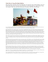Tài liệu Nhà tiên tri Nguyễn Bỉnh Khiêm