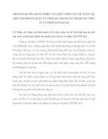 PHƯƠNG HƯỚNG HOÀN THIỆN  TỔ CHỨC CÔNG TÁC KẾ TOÁN TẬP HỢP CHI PHÍ SẢN XUẤT VÀ TÍNH GIÁ THÀNH SẢN PHẨM TẠI CÔNG TY CỔ PHẦN LICOGI 16.6