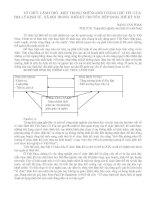 Bài giảng Tổ chức lãnh thổ - Một trong những đối tượng chủ yếu của  Địa lý KT - XH