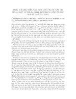NHỮNG GIẢI PHÁP NHẰM HOÀN THIỆN CÔNG TÁC KẾ TOÁN CHI PHÍ SẢN XUẤT VÀ TÍNH GIÁ THÀNH SẢN PHẨM TẠI CÔNG TY PHÁT TRIỂN KỸ THUẬT XÂY DỰNG