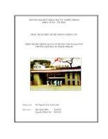 Thiết kế hệ thống quản lý trung tâm ngoại ngữ Đại học Sư Phạm TP HCM