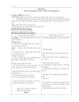 Bài giảng Giáo Án 2 Tuần 22 chuẩn + tích hợp đủ