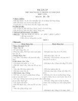 GIAO AN LOP 1 TUAN 17(CKTKN)
