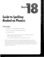 Guide to Spelling - Hooked on Phonics