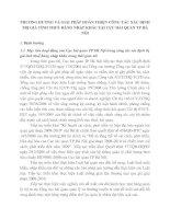 PHƯƠNG HƯỚNG VÀ GIẢI PHÁP HOÀN THIỆN CÔNG TÁC XÁC ĐỊNH TRỊ GIÁ TÍNH THUẾ HÀNG NHẬP KHẨU TẠI CỤC HẢI QUAN TP HÀ NỘI