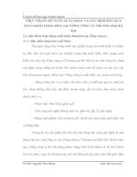 THỰC TRẠNG KẾ TOÁN XUẤT KHẨU VÀ XÁC ĐỊNH KẾT QUẢ XUẤT KHẨU HÀNG HÓA TẠI TỔNG CÔNG TY THƯƠNG MẠI HÀ NỘI