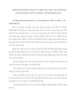 MỘT SỐ GIẢI PHÁP NÂNG CAO HIỆU QUẢ CHO VAY NGẮN HẠN TẠI NGÂN HÀNG TMCP AN BÌNH  CHI NHÁNH HÀ NỘI