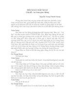 Bài giảng Hỏi xoáy đáp xoay 1