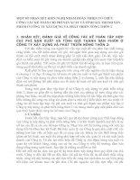 MỘT SỐ NHẬN XÉT KIẾN NGHỊ NHẰM HOÀN THIỆN TỔ CHỨC CÔNG TÁC KẾ TOÁN CHI PHÍ SẢN XUẤT VÀ TÍNH GIÁ THÀNH SẢN PHẨM Ở CÔNG TY XÂY DỰNG VÀ PHÁT TRIỂN NÔNG THÔN 2