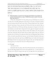MỘT SỐ GIẢI PHÁP NHẰM HOÀN THIỆN CÔNG TÁC KẾ TOÁN TIÊU THỤ HÀNG HOÁ VÀ XÁC ĐỊNH KẾT QUẢTIÊU THỤ TẠI CÔNG TY TNHH THƯƠNG MẠI VÀ PHÁT TRIỂN CÔNG NGHỆ BÁCH KHOA 4