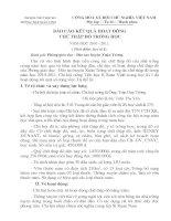Bài soạn BÁO CÁO CHỮ THẬP ĐỎ