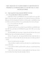 THỰC TRẠNG ĐẦU TƯ VÀ KINH NGHIỆM CỦA MỘT SỐ NƯỚC VỀ MÔ HÌNH VÀ CƠ CHẾ HOẠT ĐỘNG CỦA TỔ CHỨC ĐẦU TƯ TĂNG TRƯỞNG QUỸ BHXH