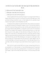 CƠ SỞ LÝ LUẬN VỀ TỔ CHỨC KẾ TOÁN QUẢN TRỊ CHI PHÍ SẢN XUẤT