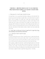 PHƯƠNG PHÁP LUẬN VÀ PHƯƠNG PHÁP ĐỊNH TÍNH NGHIÊN CỨU HÀNH VI NGƯỜI TIÊU DÙNG