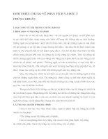 GIỚI THIỆU CHUNG VỀ PHÂN TÍCH VÀ ĐẦU TƯ CHỨNG KHOÁN