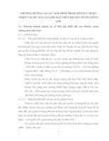 PHƯƠNG HƯỚNG VÀ CÁC GIẢI PHÁP NHẰM TIẾP TỤC HOÀN THIỆN VẤN ĐỀ  ĐẤU GIÁ QSD ĐẤT TRÊN ĐỊA BÀN HUYỆN ĐÔNG ANH