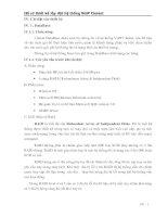 Hồ sơ thiết kế lắp đặt hệ thống VoIP Clarent (Phần IV.1)