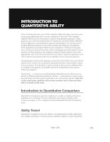 Hungry Minds Cliffs Gre_INTRODUCTION TO QUANTITANTIVE ABILITY