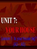 Anh 6 - Unit 7-A,3-5